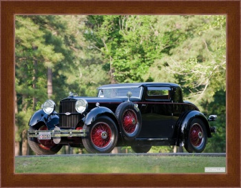 Магнитная картина Stutz Model M Supercharged Lancefield Coupe '1929-30,