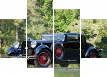 Модульное панно Stutz Model M Supercharged Lancefield Coupe '1929-30,