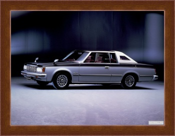 Магнитная картина Toyota Crown Royal Saloon 2-door Hardtop (MS112) '1979-83,