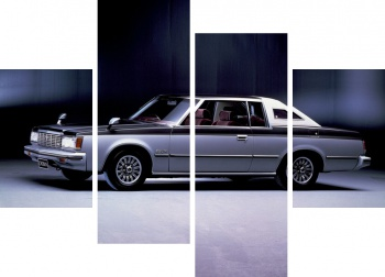Модульное панно Toyota Crown Royal Saloon 2-door Hardtop (MS112) '1979-83,