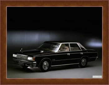 Магнитная картина Toyota Crown Super Saloon 4-door Hardtop (MS110) '1979-83,