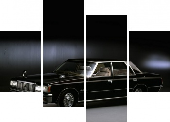 Модульное панно Toyota Crown Super Saloon 4-door Hardtop (MS110) '1979-83,