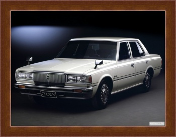 Магнитная картина Toyota Crown Super Saloon Sedan (S110) '1979-83,