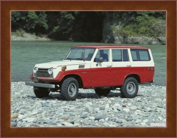 Магнитная картина Toyota Land Cruiser 50 US-spec (FJ56VL) '1975-79,
