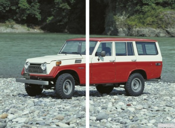 Модульное панно Toyota Land Cruiser 50 US-spec (FJ56VL) '1975-79,