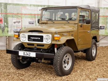Toyota Land Cruiser Canvas Тop (BJ40) '1979-82,
