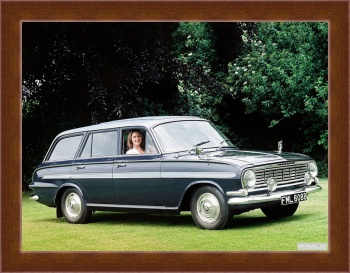 Магнитная картина Vauxhall Victor De Luxe Estate (FB) '1961-64,
