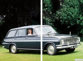 Модульное панно Vauxhall Victor De Luxe Estate (FB) '1961-64,