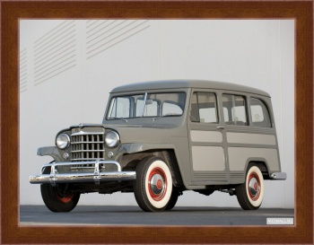 Магнитная картина Willys Jeep Wagon Panel Delivery '1946-50,