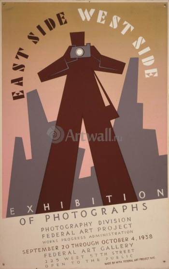 East Side West Side Exhibition of Photographs, Works Progress Administration (USA)