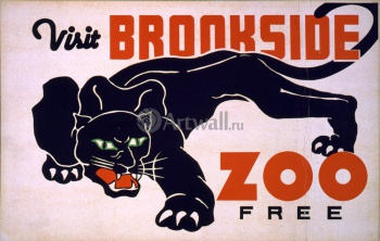Посетите Brookside Zoo Free, Works Progress Administration (USA)