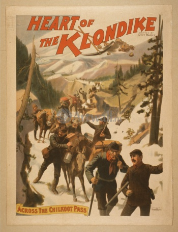 The Heart of the Klondike, Across the Chilkoot Pass, Животные