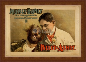 Магнитная картина Hurly-Burly Extravaganza and Refined Vaudeville, Kelly & Ashby,
