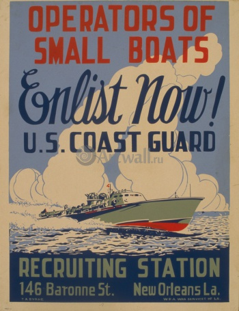 Operators of Small Boats Enlist Now!, Пропаганда