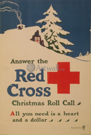 Answer the Red Cross Christmas Roll Call, All You Need is a Heart and a Dollar, Реклама
