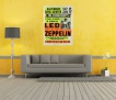 Led Zeppelin концерт,  в интерьере