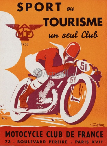 Спорт, Sport ou Tourisme un seul Club, Motorcycle Club de France