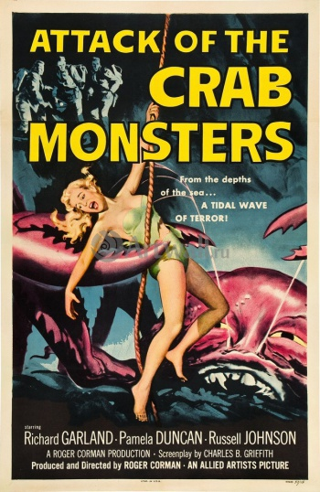 Attack of the Crab Monster, Кино