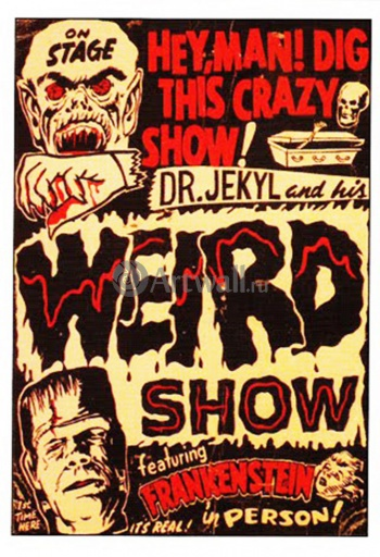 Dr. Jekyl and His Weird Show, Featuring Frankenstein, Кино