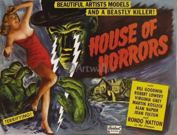House of Horrors, Beautiful Artists Models and a Beastly Killer!, Кино