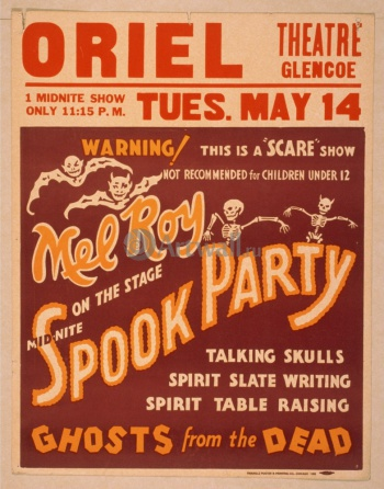 Mid-Nite Spook Party, Ghosts from the Dead, Scare Show,