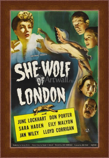 Магнитная картина She Wolf of London, June Lockhart, Don Porter, Кино