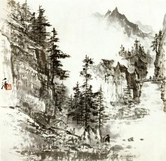 Китайская живопись и графика, Постер 5045