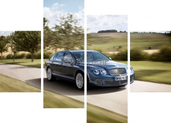 Модульное панно Bentley Continental Flying Spur,