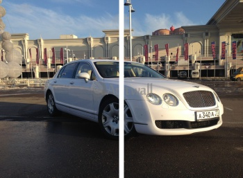 Модульное панно Bentley Continental Flying Spur (арт. am1420),