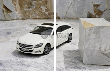 Модульное панно Mercedes-Benz CLS Shooting Brake (арт. am2203),