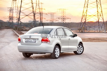 Volkswagen Polo 5D (арт. am2790),