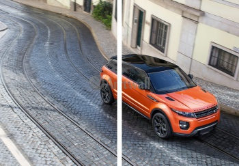 Модульное панно Land Rover Range Rover Evoque Coupe (арт. am3464),