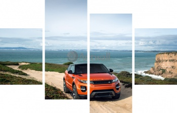 Модульное панно Land Rover Range Rover Evoque Coupe,