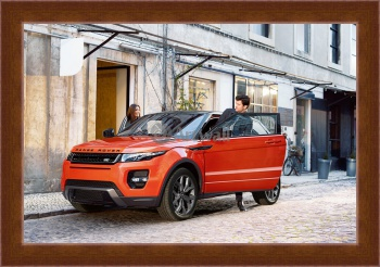 Магнитная картина Land Rover Range Rover Evoque Coupe,