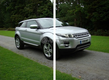 Модульное панно Land Rover Range Rover Evoque Coupe (арт. am3468),