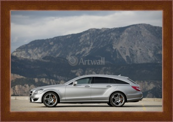 Магнитная картина Mercedes-Benz CLS 63 AMG Shooting Brake,