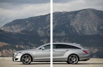 Модульное панно Mercedes-Benz CLS 63 AMG Shooting Brake (арт. am3562),