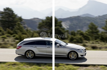 Модульное панно Mercedes-Benz CLS 63 AMG Shooting Brake (арт. am3563),