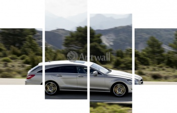 Модульное панно Mercedes-Benz CLS 63 AMG Shooting Brake,