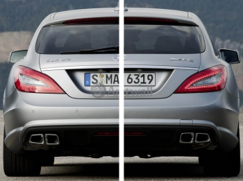 Модульное панно Mercedes-Benz CLS 63 AMG Shooting Brake (арт. am3564),
