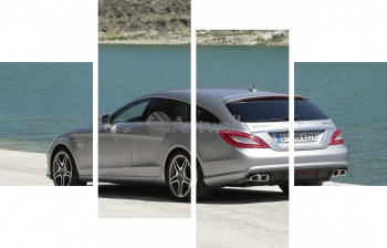 Модульное панно Mercedes-Benz CLS 63 AMG Shooting Brake (арт. am3565),