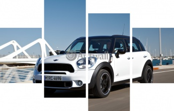 Модульное панно MINI Cooper S Countryman All4 (арт. am3704),