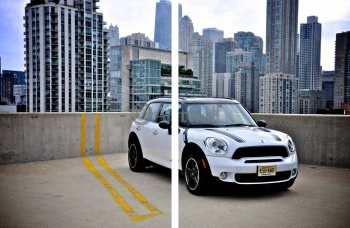 Модульное панно MINI Cooper S Countryman All4 (арт. am3705),