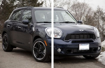 Модульное панно MINI Cooper S Countryman All4 (арт. am3711),