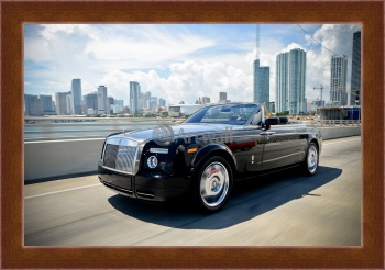 Магнитная картина Rolls-Royce Phantom Drophead Coupe,