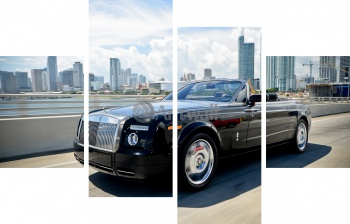 Модульное панно Rolls-Royce Phantom Drophead Coupe (арт. am4313),