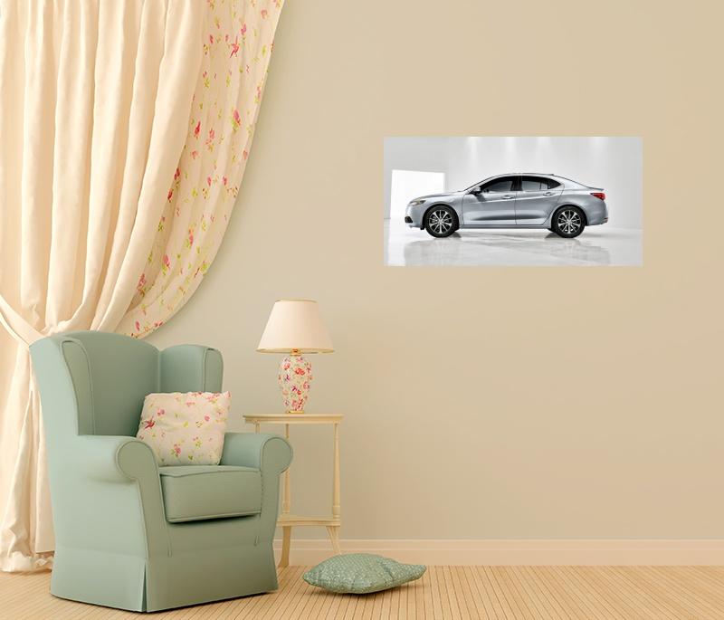 Постер с изображением Acura TLX (2014), купить плакат